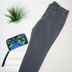 J Jill Gray Ankle Jeans